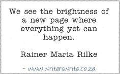 Quotable - Rainer Maria Rilke