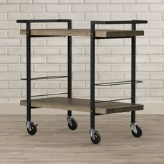 You'll love the Hale Serving Cart at Wayfair - Great Deals on all Furniture  products with Free Shipping on most stuff, even the big stuff.
