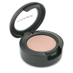 I like MAC's Naked Lunch. It's a very pretty peachy kind of color and it's got a shimmer to it that's really nice!