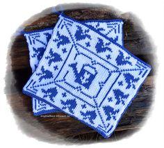 Blåklokke pattern by Jorunn Jakobsen Pedersen