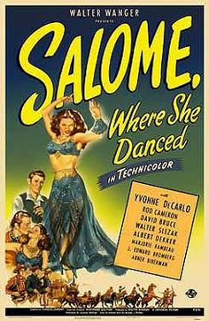 Salome Where She Danced (film poster)