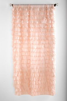 curtains in pink - urban outfitters