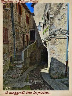 """LA SABINA nel Lazio-ITALIA_""""Noon between the stones towns!"""""""