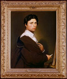 Periods & Styles Portrait In The Frame Oil On Cardboard Ca.1780