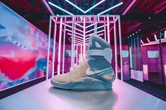 Memories of The Future.  We spoke to some of NYC's sneaker savants about what the #NikeMag means to them and the sneaker culture. We want to open up the conversation to our city. Comment below before 10.7 for a chance to have your story featured on the Future Memories page.  Click link in bio to experience Nike+Clubhouse at 45 Grand and enter the Draw for the #NikeMag.