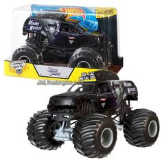 """Hot Wheels Year 2014 Monster Jam 1:24 Scale Die Cast Official Monster Truck Series - MOHAWK WARRIOR (CBY62) with Monster Tires, Working Suspension and 4 Wheel Steering (Dimension - 7"""" L x 5-1/2"""" W x 4-1/2"""" H)"""