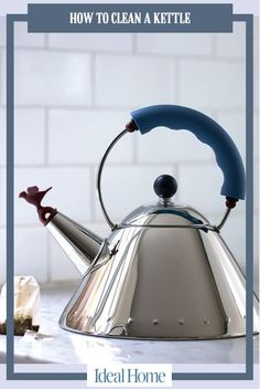 Alessi Bird Hob Kettle by Michael Graves is a design icon that deserves a place in your home. FREE UK Delivery for the Alessi Bird Hob Kettle. Clean Kettle, Kitchen Furniture, Modern Furniture, Michael Graves, Cast Iron Cookware, Kitchen On A Budget, Kitchen Ideas, Cleaning, Furniture