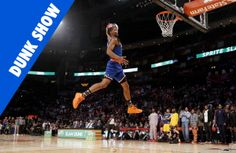 A recap of the best dunks from the 2013 NBA All Star Dunk contest in GIF form, including Jeremy Evans and Terrance Ross final round dunks.