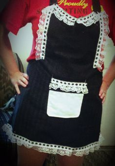 French Maid Apron by SimplyValarie on Etsy, $25.00