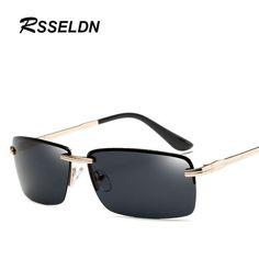f9ed7b44643 FuzWeb RSSELDN Sunglasses for Men Glasses Accessories Polarized Lens Glasses  Alloy Sun glasses S905 Lens