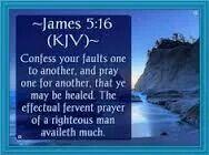 James 5:16 KJV