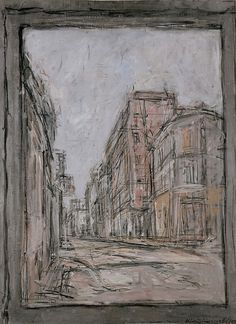 Alberto Giacometti, The Street, 1952 Alberto Giacometti, Figure Painting, Painting & Drawing, Figure Drawing, Giacometti Paintings, Italian Paintings, Pictures To Paint, Art Sketchbook, Drawing People