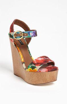 Dolce Floral Sandal