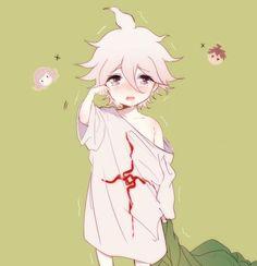 dangan ronpa 2 chibi | Anime boy. Nagito. Dangan Ronpa. Chibi