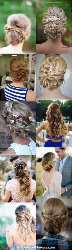 1000+ Wedding Hairstyles for Long Hair   http://www.deerpearlflowers.com/wedding-hairstyles/
