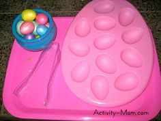 Host an Easter Themed Tot School - Easter Themed Activities for Toddlers and Preschoolers