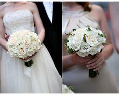 Buquê de rosas brancas - Bouquet de rosas brancas