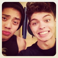 ian eastwood and brian puspos <3