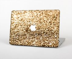 The Gold Glimmer V2 Skin Set for the Apple MacBook by iinLuv