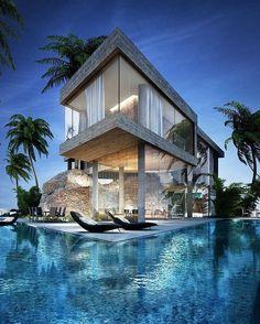 Private Villa by QUARK Studio. --- #luxury #luxuryhome #architect #luxuryhouse #arquitectura #luxurylife #luxurylifestyle #mansion #mansions #mansionhouse #bighouse #bighouses #rich #richlife #richlifestyle #homes #homesweethome #homestyle #homestead #hom