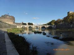 2015 Rome wandeling langs de Tiber  Tevere  Engelenburcht