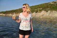 Blog Mode & DIY - Youmakefashion.fr - Margot: Calvi on the rocks Calvi On The Rocks, Blog, Diy, Bricolage, Blogging, Do It Yourself, Homemade, Diys, Crafting