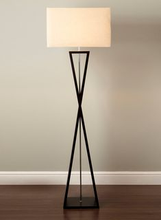 turned wood tripod floor lamp - Google Search