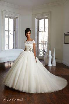 Vestido de novia, princesa, Briden Formal