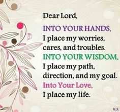 I love this simple prayer.