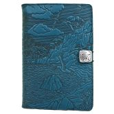 Leather Nook Cover | Cypress Cove in Sky Blue