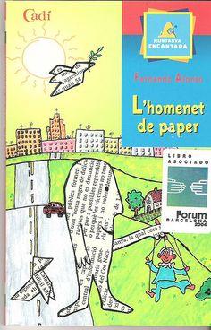 L'homenet de paper, un conte per treballar la Pau.  http://fentidesfentalescola.blogspot.com.es/2013/01/lhomenet-de-paper-un-conte-per.html