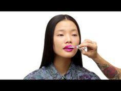 Topshop Beauty School: The Hot Pink Lip