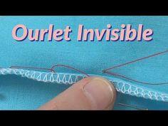 Tutoriel couture - Comment faire l'ourlet invisible 📍 - YouTube