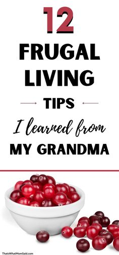 12 Frugal Living Tips My Grandma Taught Me (To Save More Money) Best Money Saving Tips, Ways To Save Money, How To Raise Money, Money Tips, Saving Money, Living On A Budget, Frugal Living Tips, Frugal Tips, Household Expenses