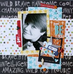 Bella Blvd max. Just be you layout by DT member Sheri Feypel