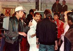 "Michael Jackson ""Beat It' behind the scene."