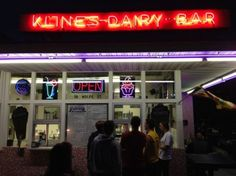Kline's Dairy Bar is a staple of downtown Harrisonburg, still churning out its famous frozen custard just like it did in the 1940s.   Harrisonburg, VA: Hiking and Intransitive Verb Paradise    Camping & Hiking Blog