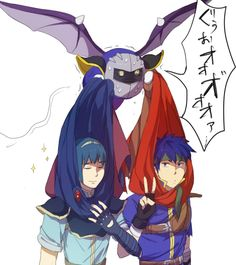 Ike, Marth and Meta Knight, Super Smash Bros. Brawl
