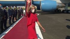 Jill Biden touches down in Japan for the Tokyo Olympics | Daily Mail Online Carrie Johnson, Boris Johnson, Tokyo Olympics, Summer Olympics, First Lady Of America, Jill Biden, British Prime Ministers, Six Month, Queen Elizabeth Ii