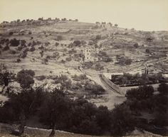 Se buscan mezquitas y pasado árabe palestino. Si lo veís, por favor avisar ;) The Mount of Olives and Garden of Gethsemane [Jerusalem]. Creator: Francis Bedford (1815-94) (photographer). Creation Date: 2 Apr 1862. Materials: Albumen print, mounted on card. Dimensions: 23.4 x 28.5 cm. Acquirer: King Edward VII, King of the United Kingdom (1841-1910).