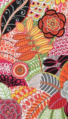 Pattern floral zentangle