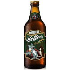 Cerveja Brasileira Light Lager Hoffen Golden Eye 600ml