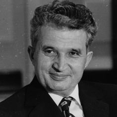 Nicolae Ceausescu was the Communist dictator of Romania. He worked with the Soviet Union. He was executed. Romania People, Romanian Gypsy, Romanian Revolution, Warsaw Pact, Head Of State, Communism, Soviet Union, Revolutionaries, Famous People