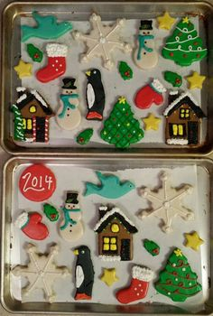 Christmas Cookies - Custom Cookies - Decorated Shortbread Cookies - ORDER HERE (Shipping Avail in 48 states):  www.Facebook.com/StefsEvents
