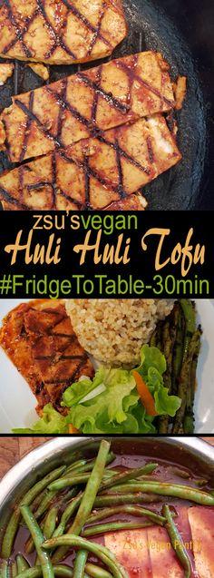 Zsu's Vegan Pantry: huli huli tofu