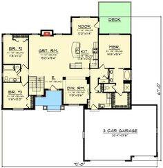Plan 40893DB Kitchen with Two Islands Pantry Photo galleries