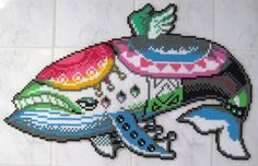 Legend of Zelda Windfish Large Perler Bead Art