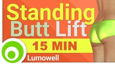 15 Minute Butt Lift Workout. Standing Exercises to Tone and Lose Butt Fat