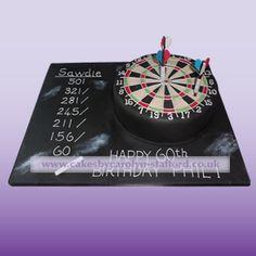 dartboard  cakesbycarolyn-stafford, staffordshire