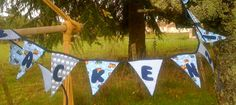 Personalised boy's bunting by Kirstyflo on Etsy, €20.00